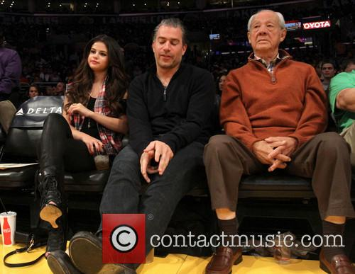selena gomez los angeles lakers v sacramento 3560746