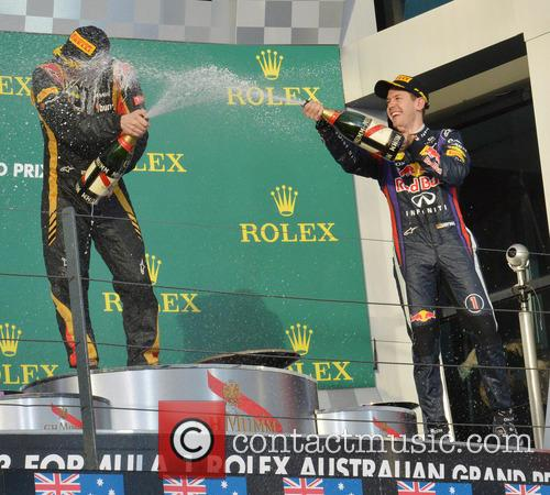 Kimi Raikkonen and Sebastian Vettel 8