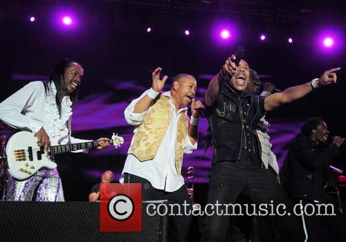 Earth, Wind & Fire, Ralph Johnson, Verdine White, Sun Life Stadium