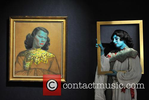 Vladimir Tretchikoff's 'Chinese Girl' painting is to be auctioned off at Bonham's.