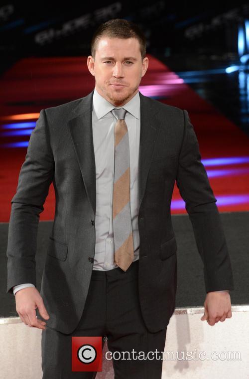 Channing Tatum, G.I. Joe Premiere