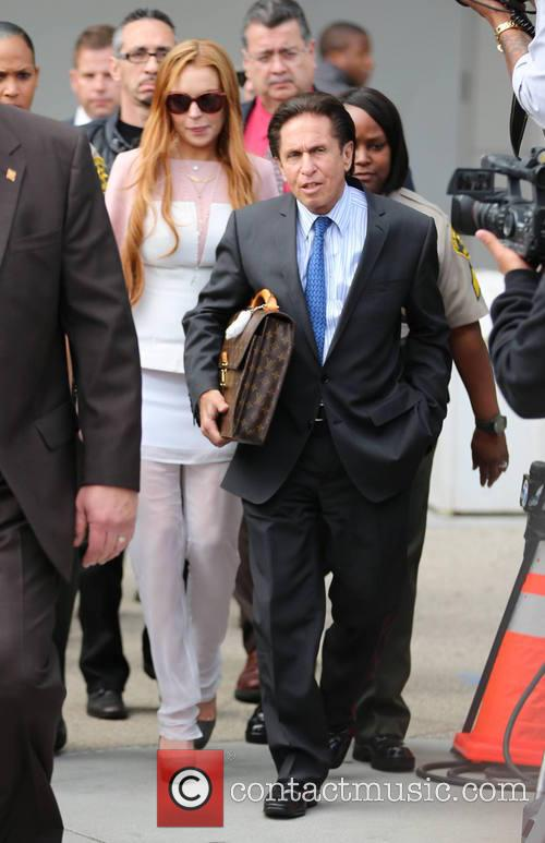 Lindsay Lohan and Mark Heller 2