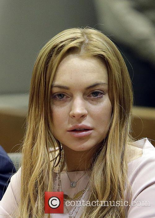 Lindsay Lohan, LA Courthouse