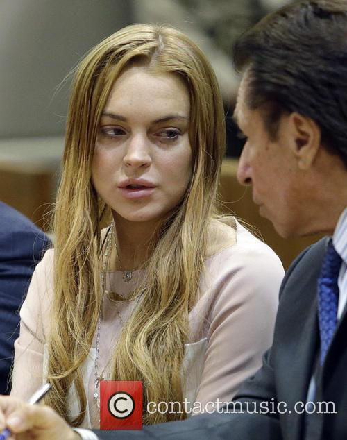 Lindsay Lohan and Mark Heller 9