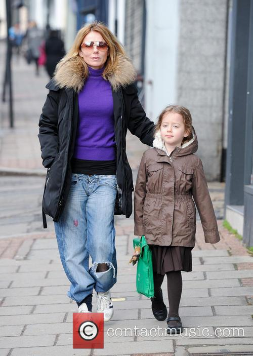 Geri Halliwell and Bluebell Halliwell 3