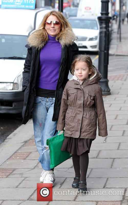Geri Halliwell and Bluebell Halliwell 5