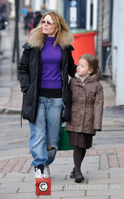 Geri Halliwell and Bluebell Halliwell 10