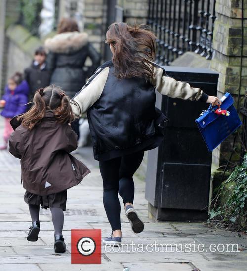 Myleene Klass and Daughter Ava 9