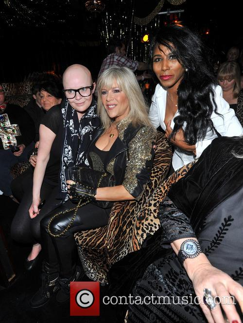 Gail Porter, Sinitta and Samantha Fox 5