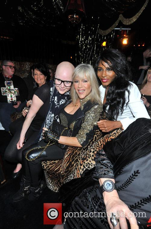 Gail Porter, Sinitta and Samantha Fox 1