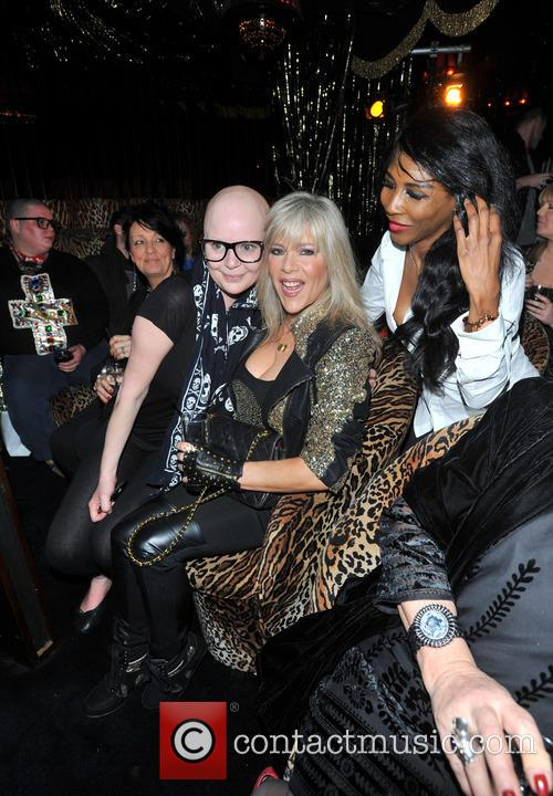 Gail Porter, Sinitta and Samantha Fox 7