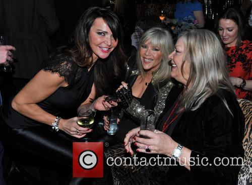 Lizzie Cundy and Samantha Fox 1