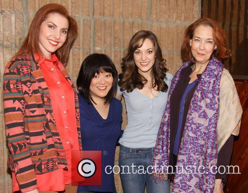 Marla Mindelle, Ann Harada, Laura Osnes and Harriet Harris Durin 4