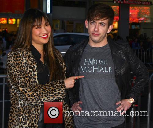Jenna Ushkowitz and Kevin Mchale 5