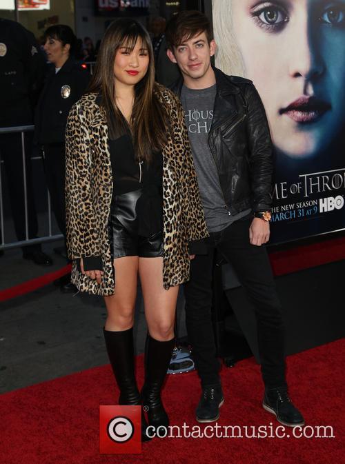 Jenna Ushkowitz and Kevin Mchale 1