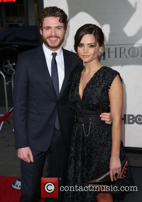 richard madden jenna louise coleman premiere of the third 3563271