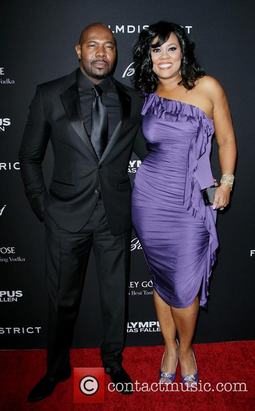 Antoine Fuqua and Lela Rochon
