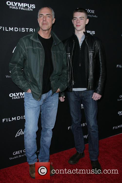 Titus Welliver and Son Eamon Welliver 2