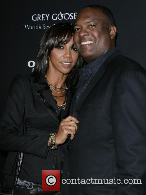 Holly Robinson Peete, husband Rodney Peete, ArcLight Hollywood Theatre
