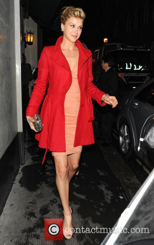 adrianne palicki celebrities leave the ivy club 3562543