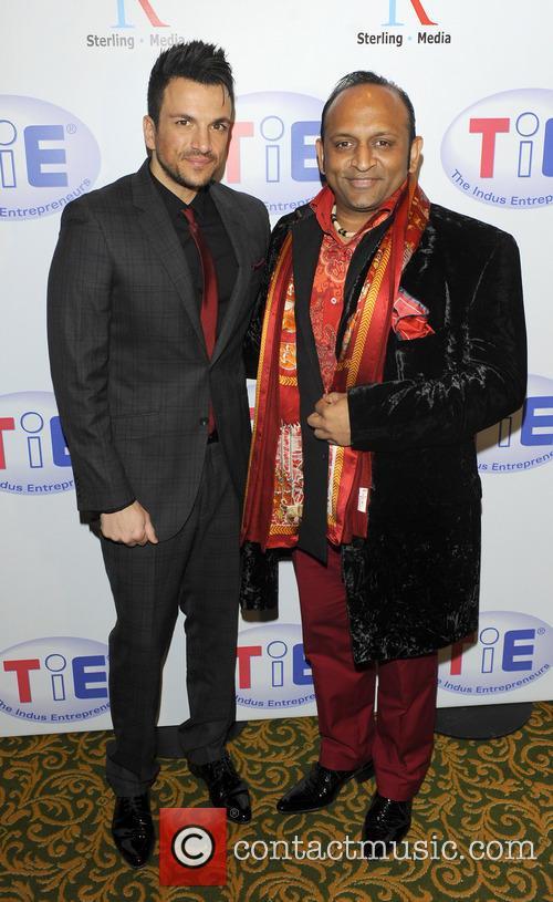 Deepak Kuntawala and Peter Andre 3