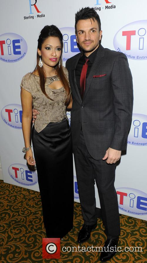 Peter Andre and Tasmin Lucia-khan 2