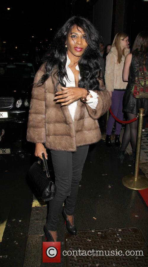 sinitta celebrities out and about in london 3563035