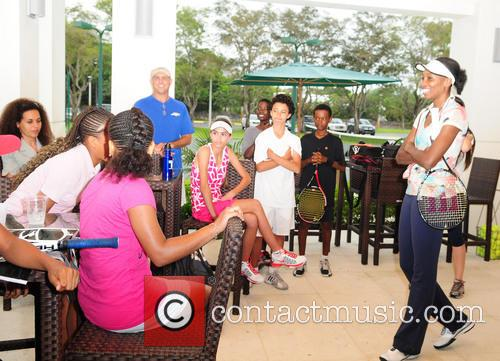 venus williams venus williams visits charitable organisation 3563154