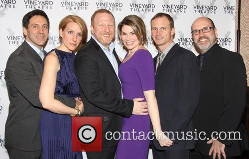 Michael Berresse, Susan Blackwell, Hunter Bell, Heidi Blickenstaff, Jeff Bowen and Larry Pressgrove