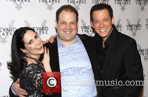 Stephanie D'abruzzo, Jordan Gelber and John Tartaglia 1