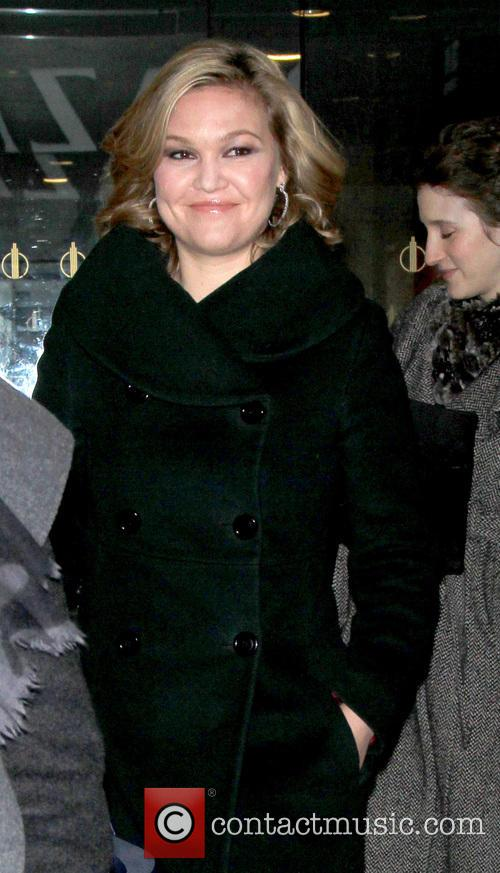 Julia Stiles at the Today Show