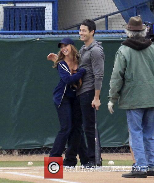 Jennifer Love Hewitt and Brian Hallisay 24