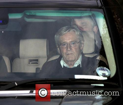 Bill Roache seen leaving his home