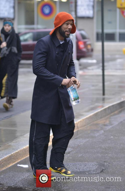 Common seen out trying to catch a cab