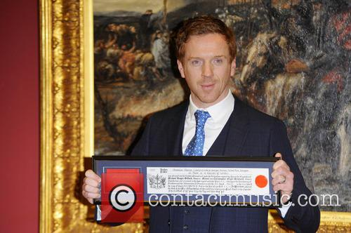 Damian Lewis receives the Freedom of The City...