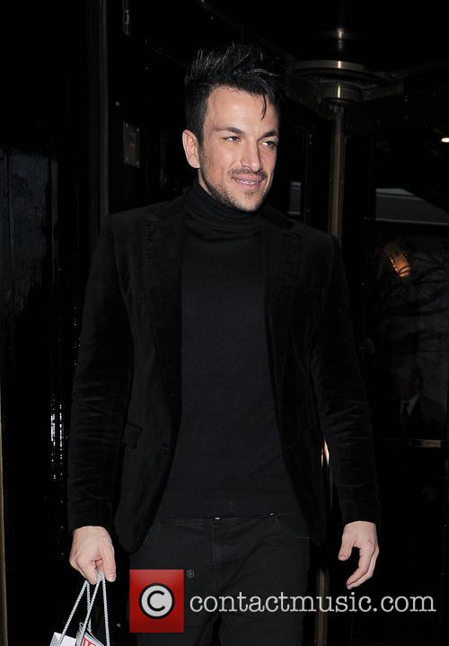 peter andre celebrities seen outside the dorchester 3564128