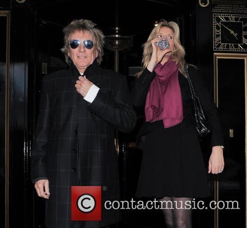 Rod Stewart and Penny Lancaster 3