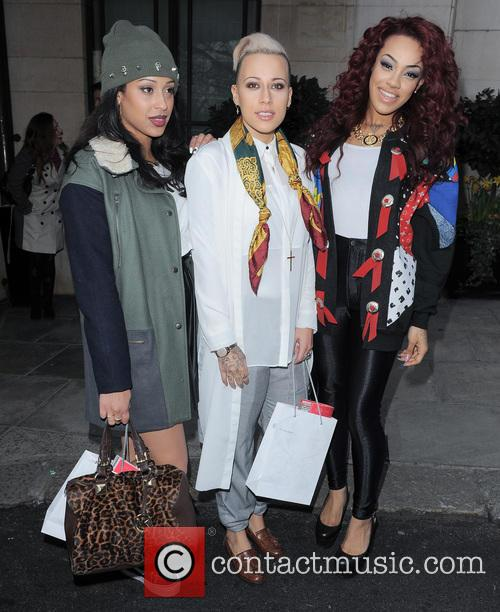 stooshe celebrities seen outside the dorchester hotel 3564123