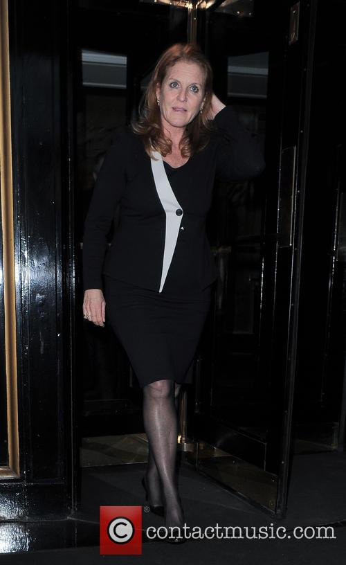 Celebrities are seen leaving an event held at The Dorchester hotel in London