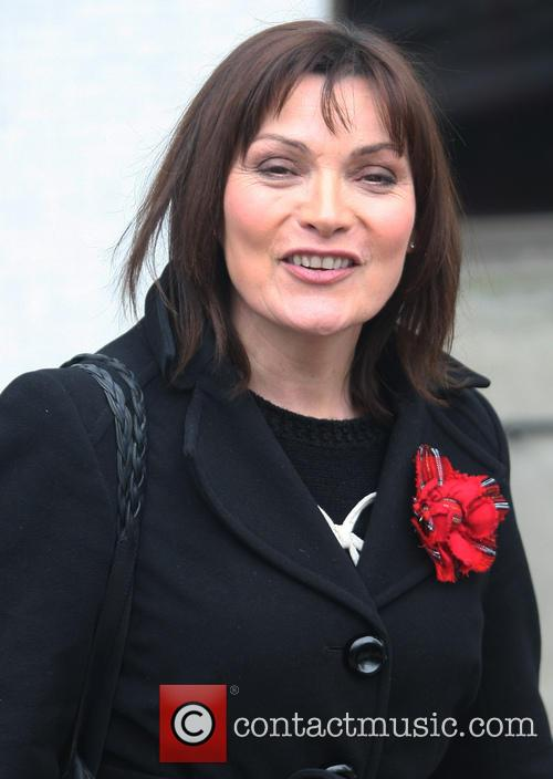 lorraine kelly celebrities at the itv studios 3563021