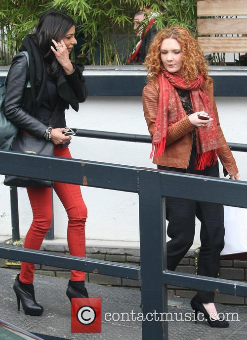 Jennie Mcalpine and Shobna Gulati 2