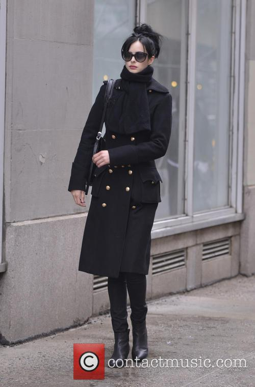 Krysten Ritter returns to her hotel