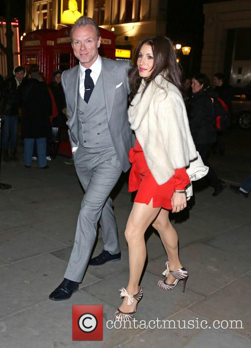 Gary Kemp and Wife Lauren Barber 1