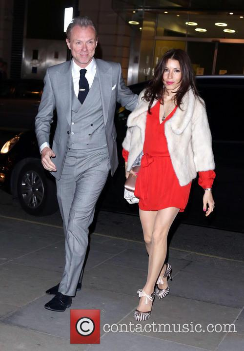 Gary Kemp and Wife Lauren Barber 2