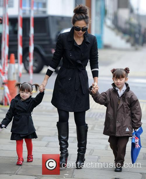 Myleene Klass, Ava Quinn and Hero Quinn 11