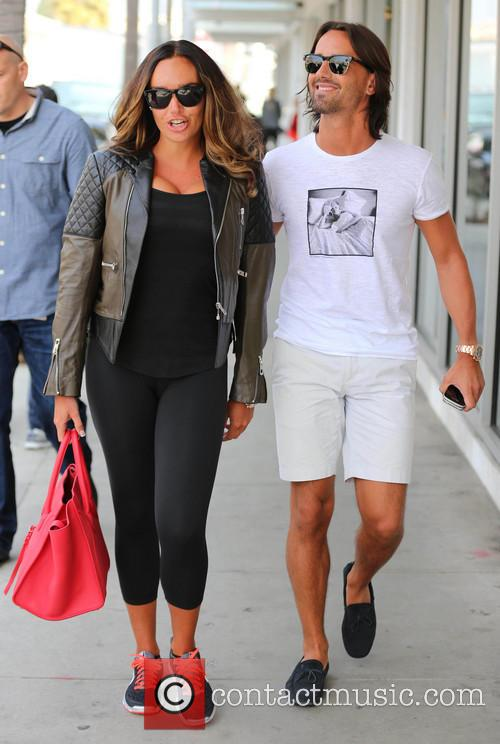 Tamara Ecclestone and her fiance Jay Rutland go...