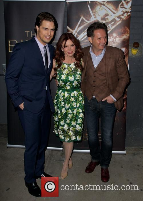 Diogo Morgado, Roma Downey and Mark Burnett 5