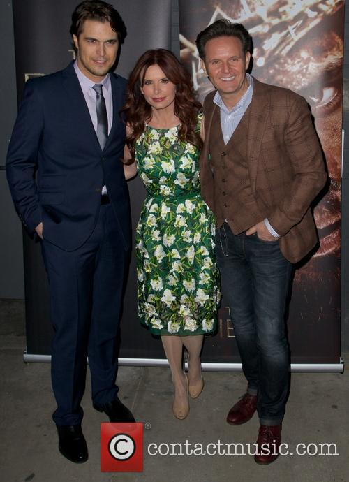 Diogo Morgado, Roma Downey and Mark Burnett 6