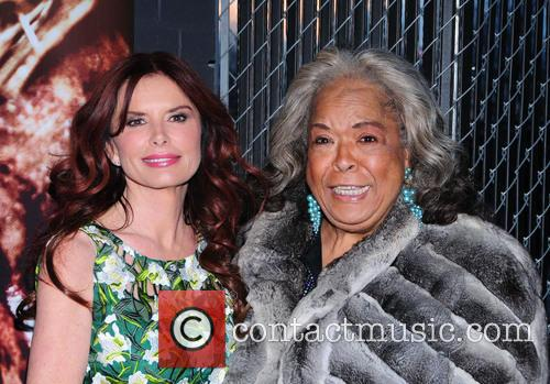 roma downey della reese the bible experience opening 3565491
