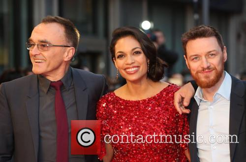Danny Boyle, Rosario Dawson and James Mcavoy 8